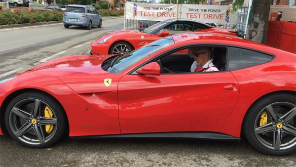 Ride along in 700 hp Ferrari!