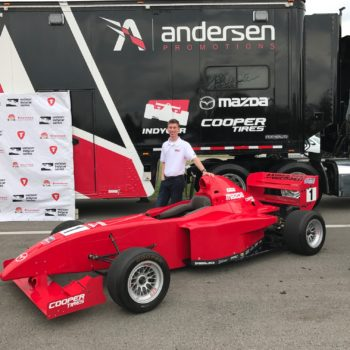 Sting Ray Robb Pro Mazda Media Day