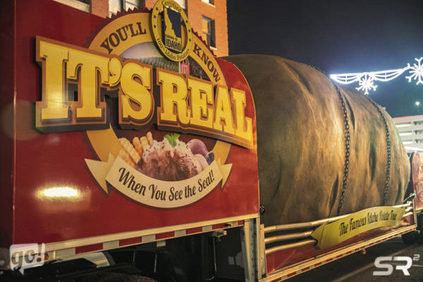 Famous Idaho Potato Truck 2