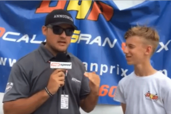 Sting Ray Robb - Cold Stone Rotax Interview