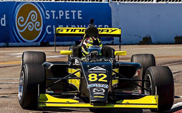 Pro Mazda Road To Indy Sting Ray Robb