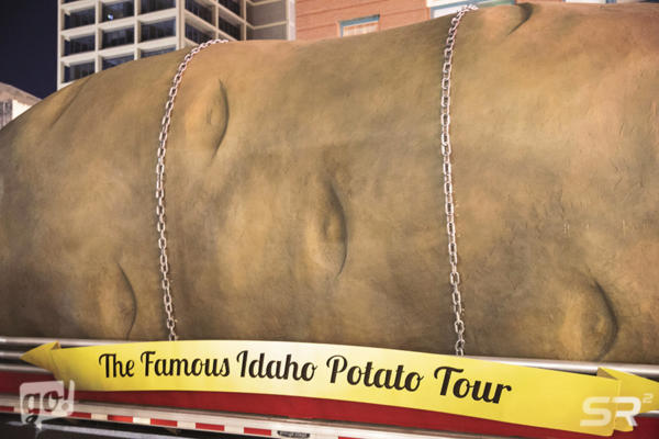 Famous Idaho Potato Truck