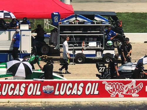 Sting Ray Robb Lucas Oil Race 2018